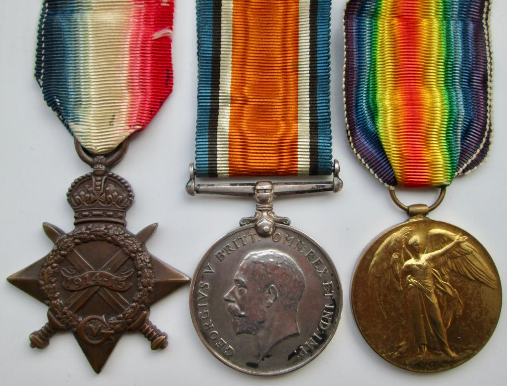 First World War Medals to Casualties