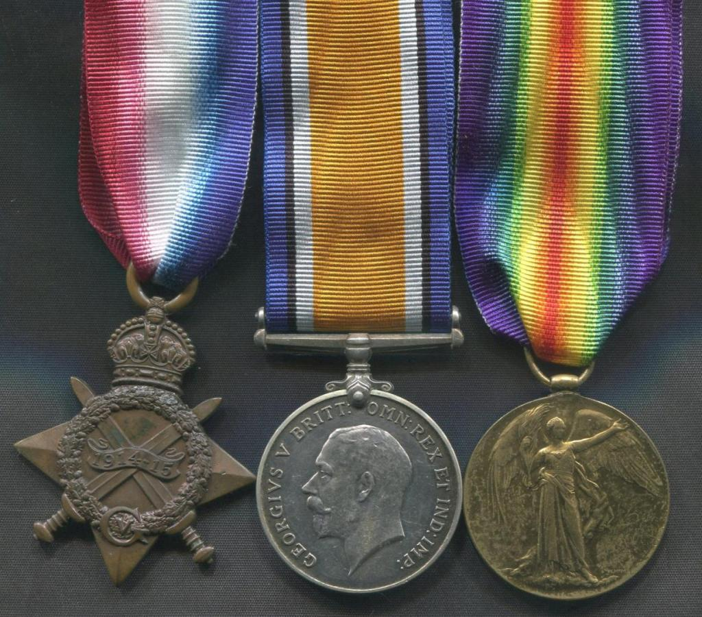 Groups with First World War Medals