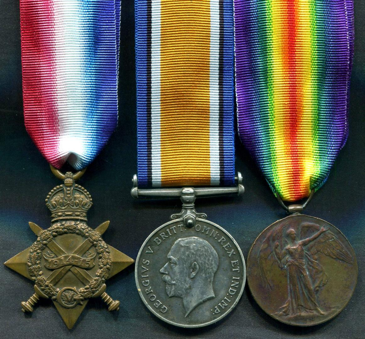 First World War Medals to Casualties – J Collins Medals
